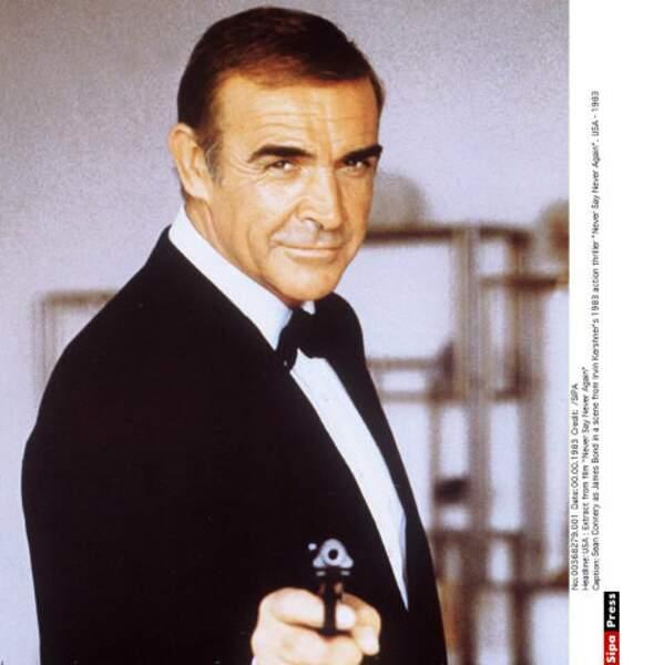 Avant lui, le tout premier James Bond au cinéma fut le très charismatique Sean Connery