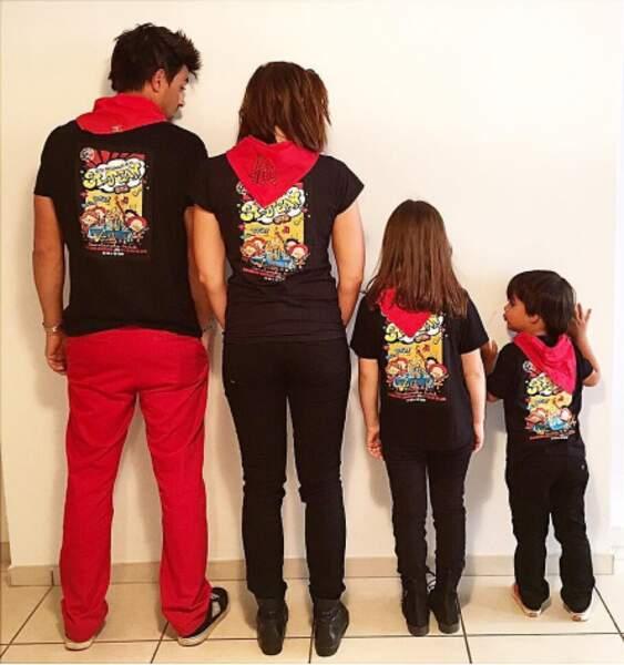 Et partagent leur bonheur avec les enfants de Jean-Pascal : Kylie (8 ans) et Maverick (4 ans).