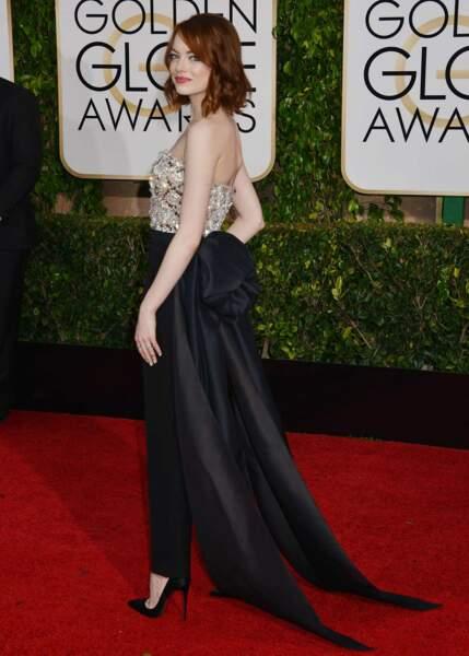 Emma Stone, toujours au top de la tendance