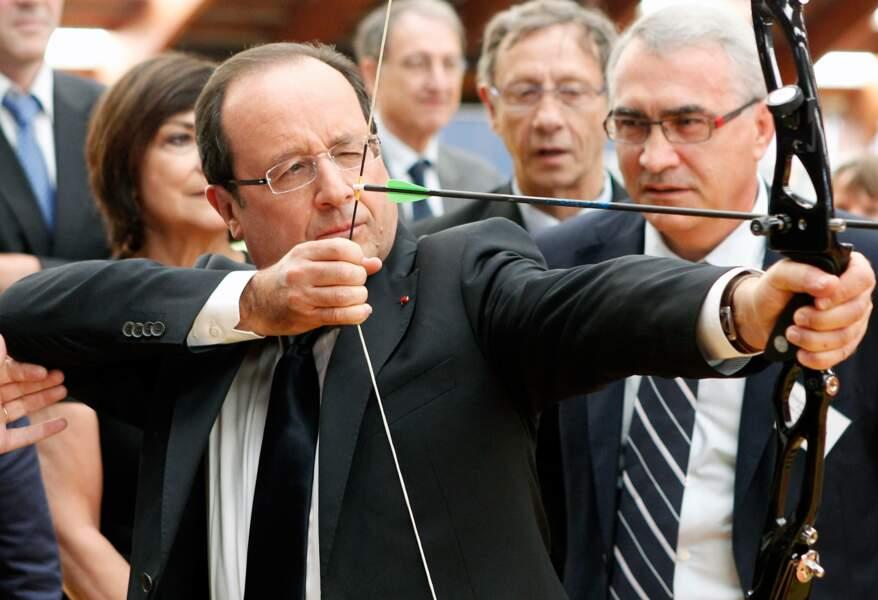 Juin 2012 : le président se prend pour Robin des Bois à l'INSEP