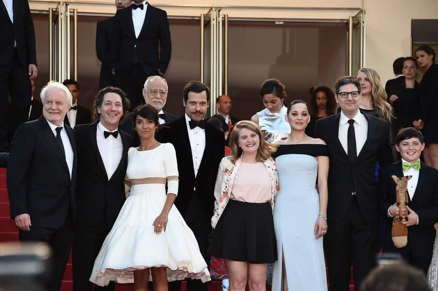 L'équipe du film Le Petit Prince au 68ème Festival de Cannes