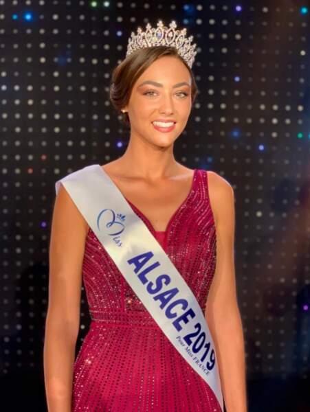Laura Theodori est Miss Alsace 2019