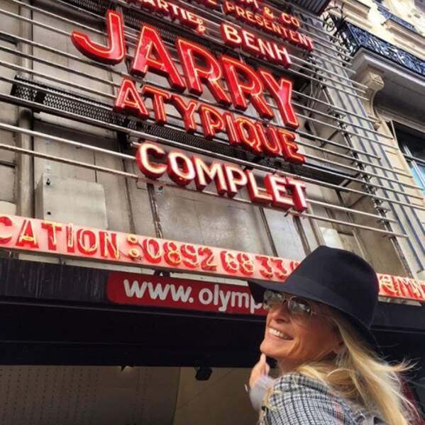 Estelle Lefébure est super fan de Jarry.
