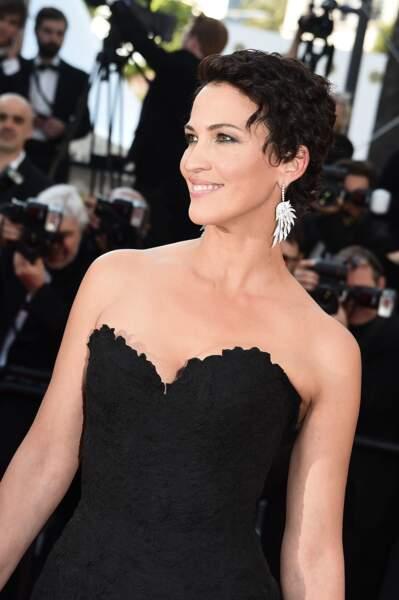 Linda Hardy lors de la montée des marches pour Le Petit Prince, au 68ème Festival de Cannes