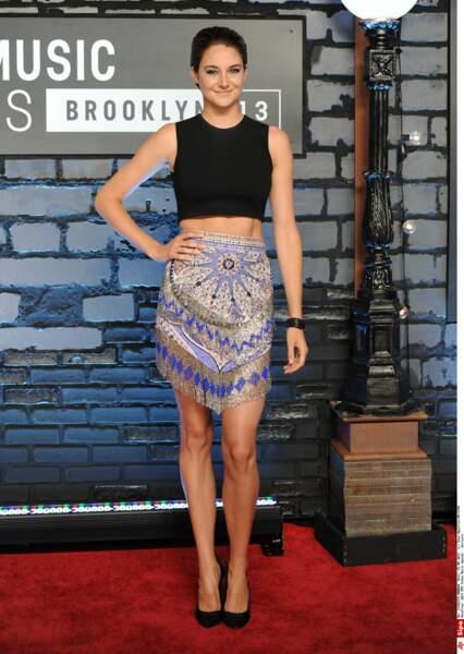 elle n'en reste pas moins sûre d'elle aux MTV Video Music Awards à NYC !