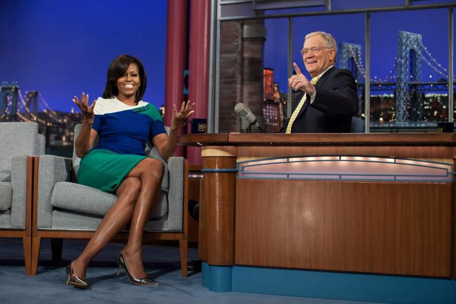 Michelle aussi a enchaîné les apparitions télé