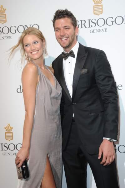 La top-model Toni Garrn et le basketteur Chandler Parsons, en couple depuis 2015.