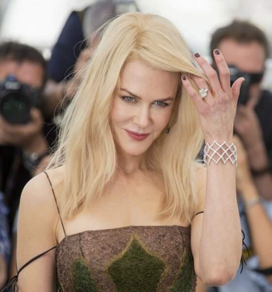 Nicole Kidman, 50 ans, et une beauté à tomber par terre