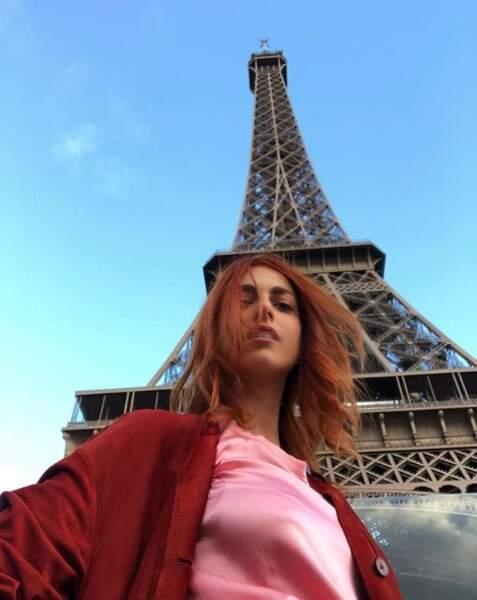 Et quand elle a le temps, elle pose ses valises quelques jours à Paris !