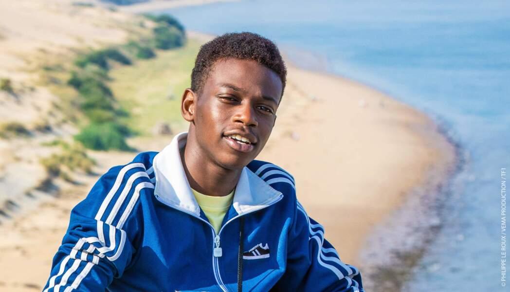 Azize Diabaté, le jeune comédien des Bracelets rouges s'illustrera sur la piste