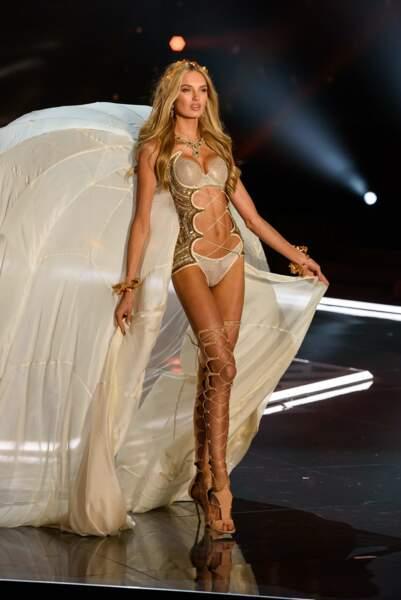 La Néerlandaise Romee Strijd est un ange pour Victoria's Secret depuis 2015.