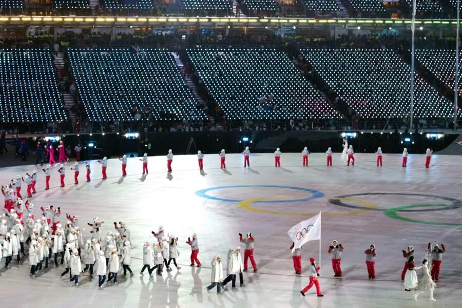 Si la Russie ne peut pas participer, 168 athlètes olympiques russes ont toutefois été invités