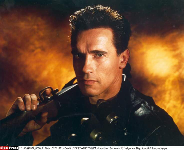 Arnold Schwarzenegger, faut pas l'ennuyer, okay ?