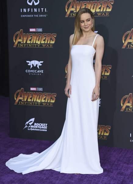 Brie Larson avait misé sur la sobriété... Bravo !