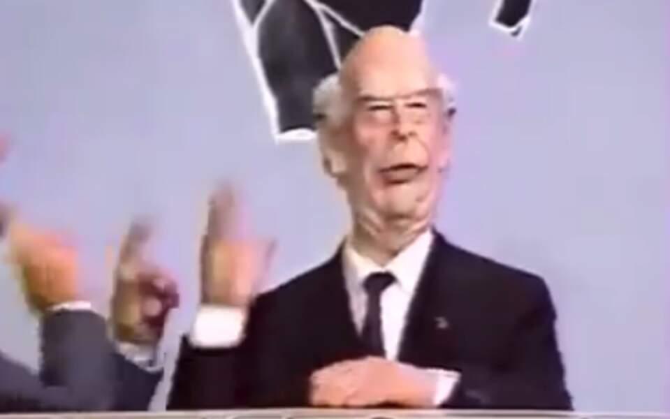 """""""Au revoir"""" : Giscard d'Estaing, au rendez-vous lui aussi."""