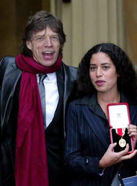 L'aînée de Mick Jagger se prénomme Karis. Elle a 50 ans.