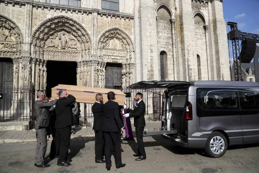 Les obsèques du pilote Anthoine Hubert, décédé le 31 août, avaient lieu le 10 septembre à la cathédrale de Chartres