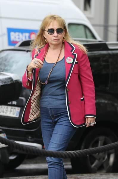 Rosalie Varda, la fille d'Agnès Varda, arrive à la Cinémathèque française