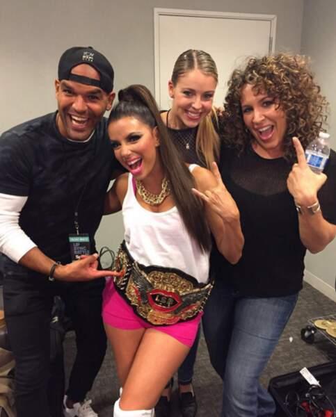 Eva Longoria s'est transformée en Nicki Minaj pour une soirée.