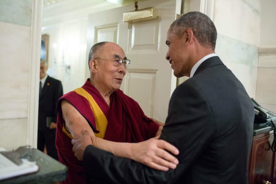 15 juin 2016 : Barack Obama reçoit le Dalaï-Lama