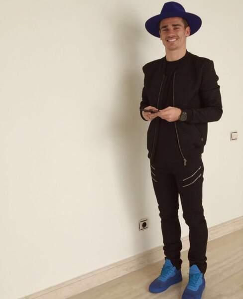 Antoine Griezmann a le style.