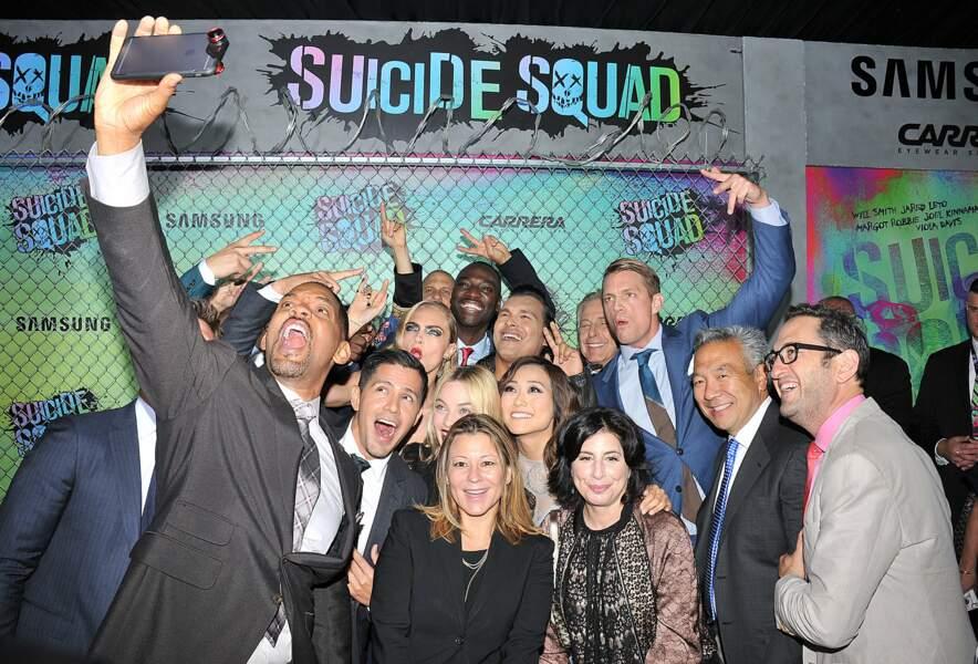 Hier soir à New York City, l'équipe SUICIDE SQUAD est venue présenter le film en avant-première