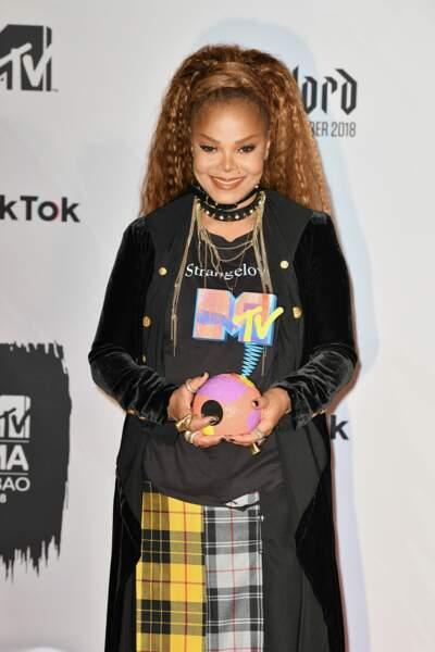 Janet Jackson, venue recevoir un prix d'honneur pour l'ensemble de sa carrière