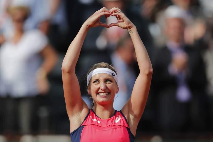 Roland-Garros, c'est aussi beaucoup d'amour...