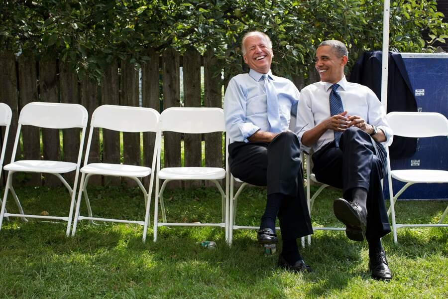 Collègues, les deux hommes sont surtout de très bons amis