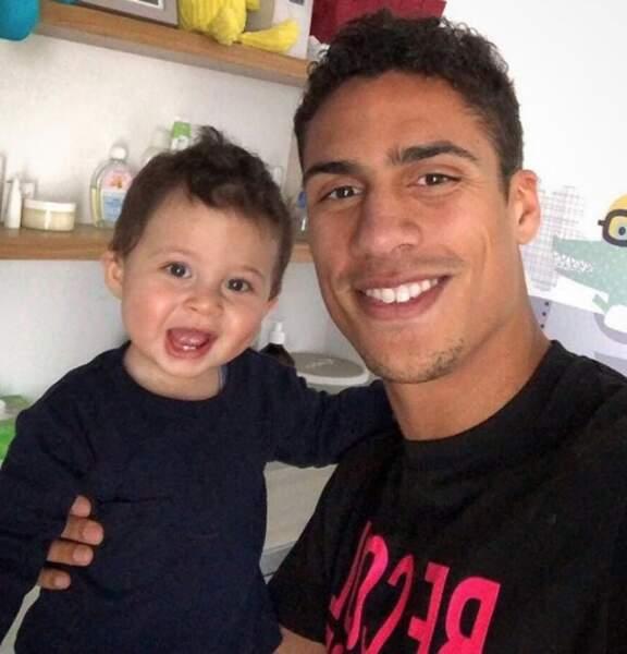 Ruben, le fils de Raphaël Varane, est beaucoup trop trognon.