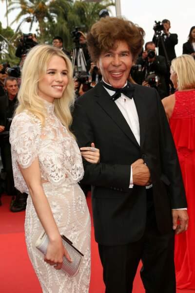 Igor Bogdanoff, sans Grichka, mais avec sa compagne Julia Jardon