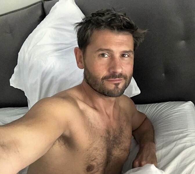 Christophe Beaugrand au réveil, tout frais