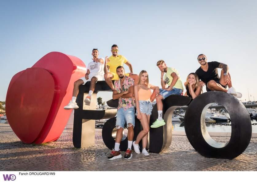 Toute l'équipe réunie à Faro au Portugal pour la première fois !