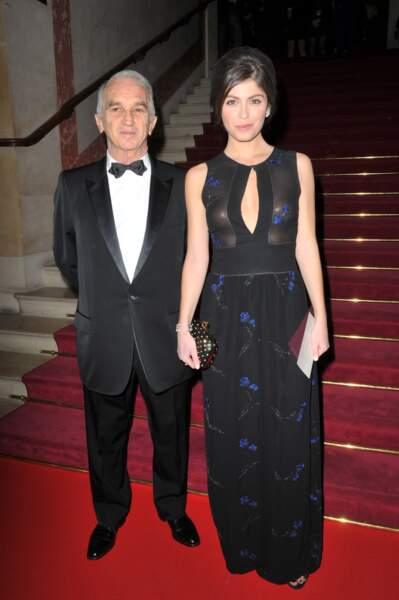 Alain Terzian, Président de l'Académie des arts et techniques du cinéma, à son arrivée au Théâtre du Châtelet