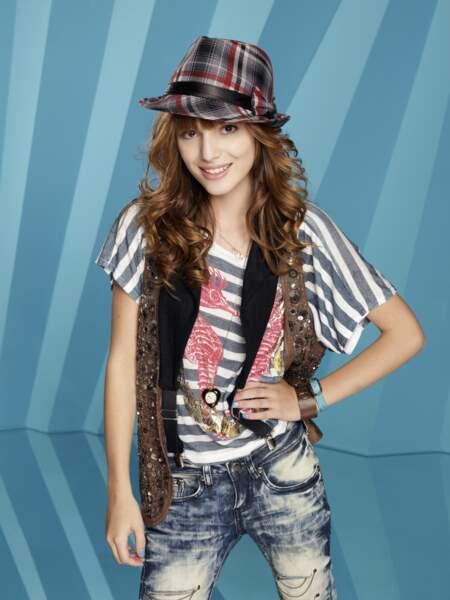 Bella Thorne justement, la voilà ! Elle aussi a commencé sa jeune carrière dans Shake It Up