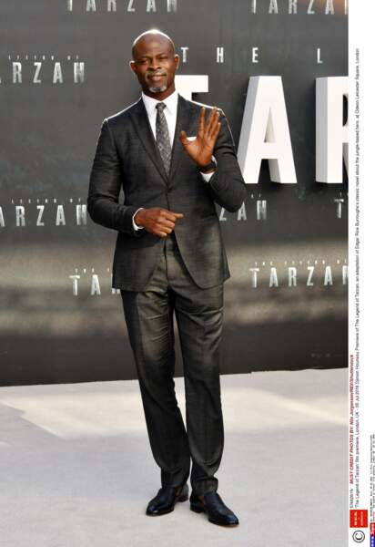 Djimon Hounsou joue dans le film Tarzan