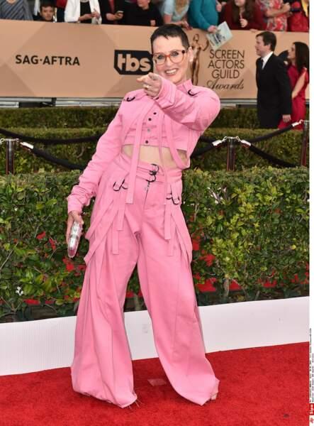 Sur les tapis rouges, l'actrice a un style bien à elle