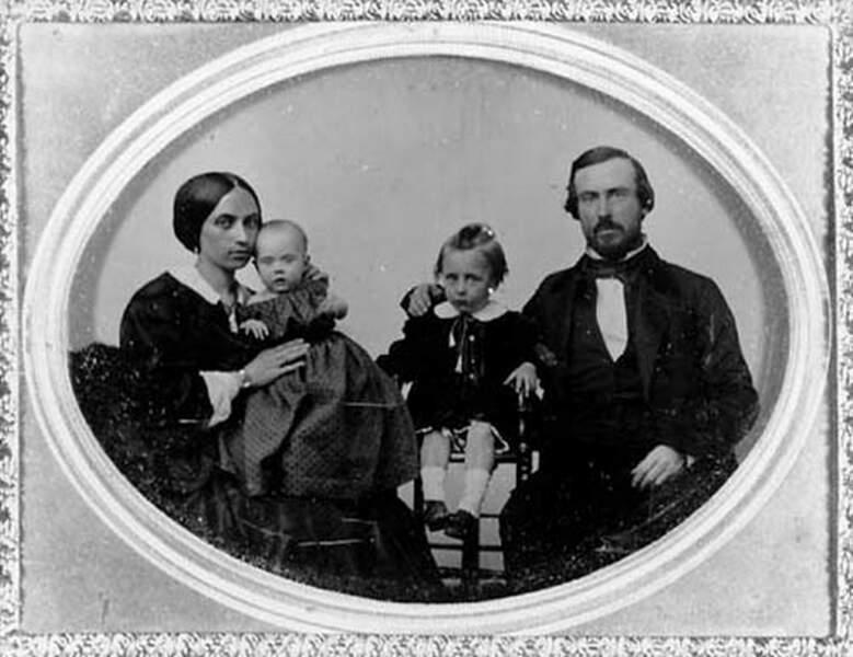 Portrait de la famille Whaley
