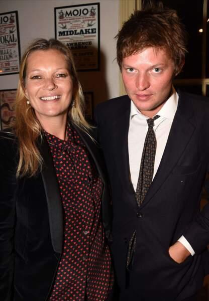 La top-model Kate Moss et Nikolai von Bismarck, en couple depuis 2015.