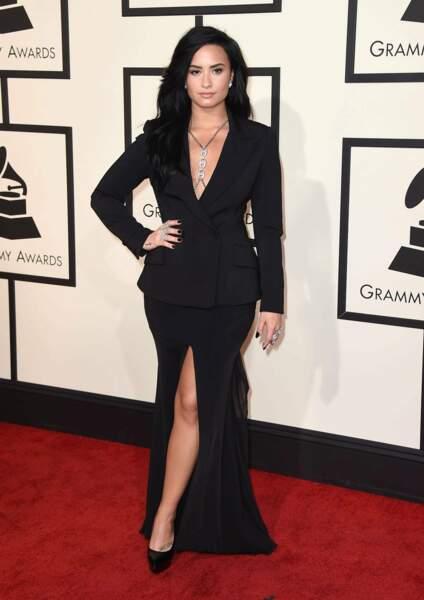 Demi Lovato très sobre