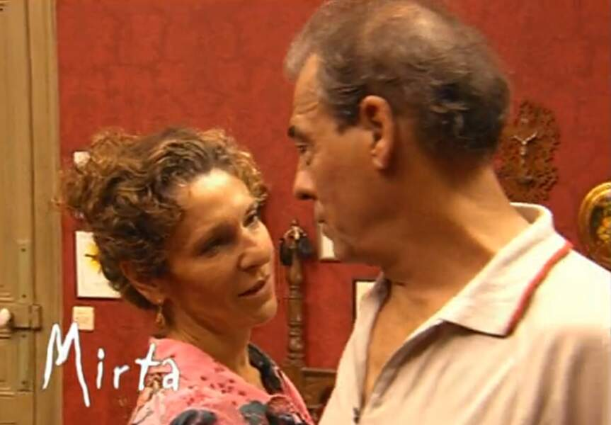 Bien qu'amoureuse de Roland, Mirta, qui tient trop à sa liberté, ne souhaite pas vivre avec lui.
