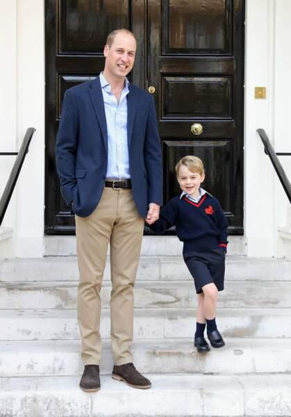 Il intègre la prestigieuse Thomas's Battersea School à Londres