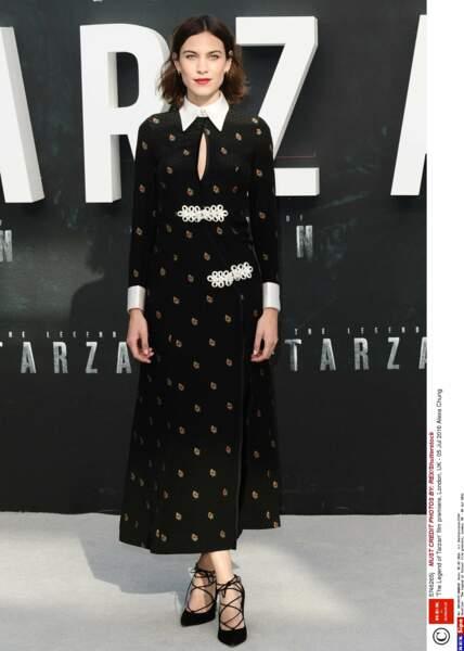 Alexa Chung est venue soutenir son compagnon et star du film : Alexander Skarsgård