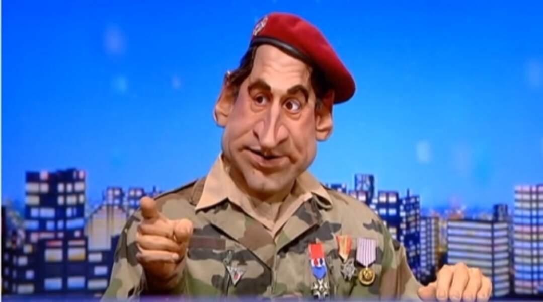 """""""Elle est pas belle ma femme ?"""" : Nicolas Sarkozy version marionnette..."""