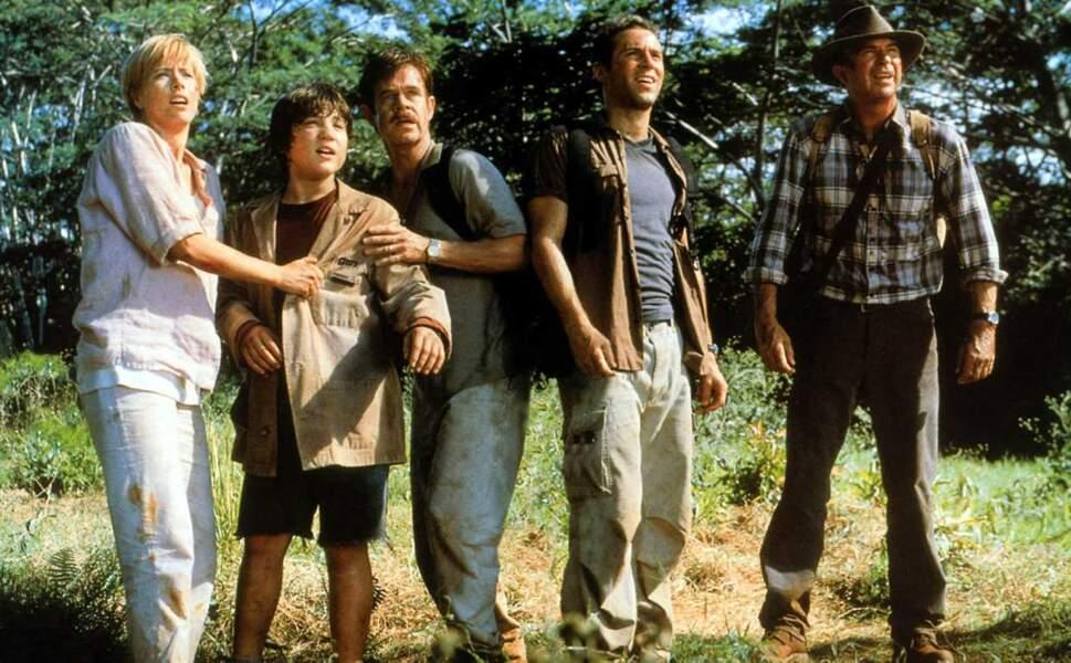 C'est ensuite en 2001 que sort Jurassic Park 3 !
