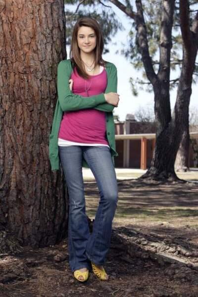 """En 2008, elle devient pour 4 ans l'héroïne de la série """"La Vie secrète d'une ado ordinaire"""""""