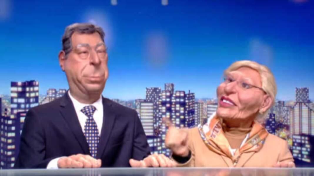 """Scandales chez les Balkany : """"Isabelle, fais tes valises on se tire"""" dit la marionnette du maire de Levallois."""