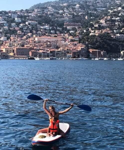Elle partage avec ses 530 000 abonnés ses plus beaux clichés de vacances...