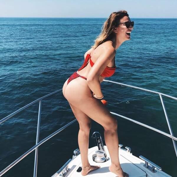 Rachel Legrain-Trapani, morte de rire après se l'être jouée Leonardo DiCaprio dans Titanic !