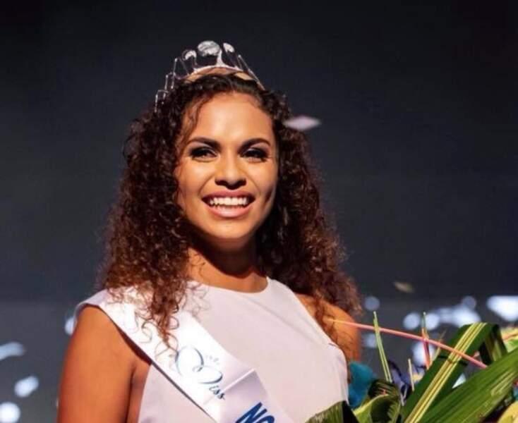 Anaïs Toven a été élue Miss Nouvelle-Calédonie